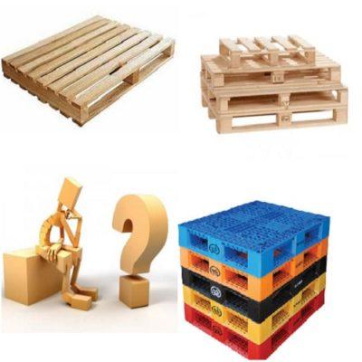 pallet gỗ hay pallet nhựa