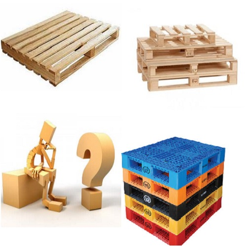 Lựa Chọn Pallet Nào? Pallet gỗ hay Pallet nhựa