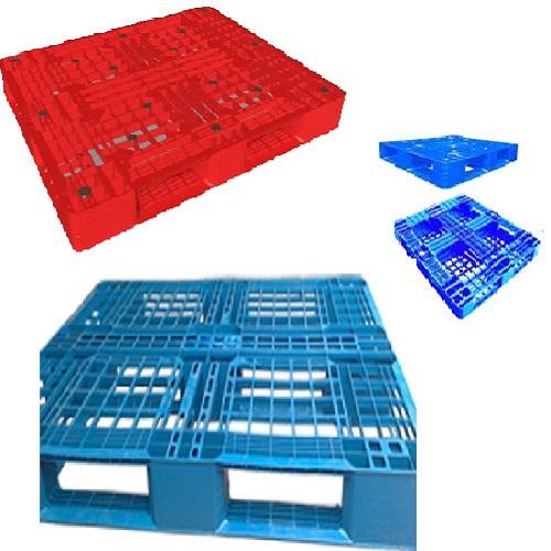 Pallet Nhựa Ô Cửa Sổ-Pallet Nhựa Giá Rẻ Có Ô Cửa Sổ