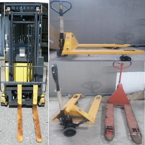 Xe nâng tay cũ 1 tấn 2 tấn các loại giá rẻ tại TP. HCM