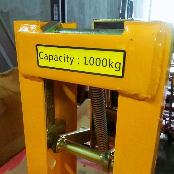 Kẹp phuy đôi chịu tải được 1 tấn cực kỳ bền