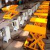 Các mẫu bàn nâng điện thủy lực mini cao 1,3m/1,5m giá rẻ