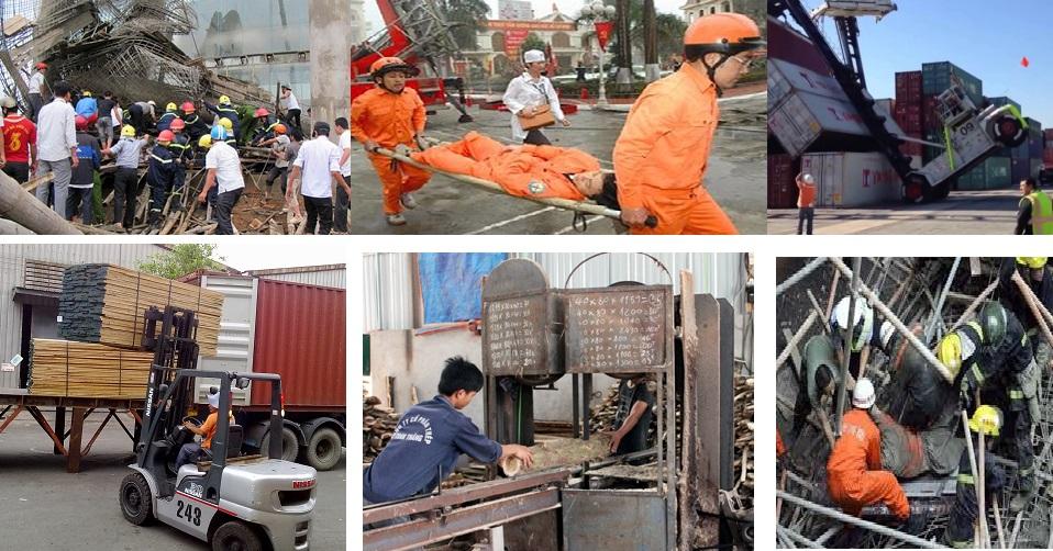 Tai nạn lao đọng trong công nghiệp và xây dựng