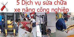 5 Dịch vụ sửa chữa xe nâng công nghiệp tốt nhất tại Tp.Hồ Chí Minh