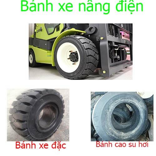 Mua lốp xe nâng điện