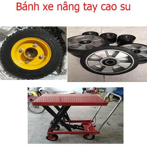 11 loại bánh xe nâng hàng công nghiệp
